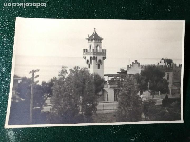 ANTIGUA FOTOGRAFÍA. BENICASSIM. CASTELLÓN. FOTO AÑOS 40-50. (Fotografía Antigua - Fotomecánica)