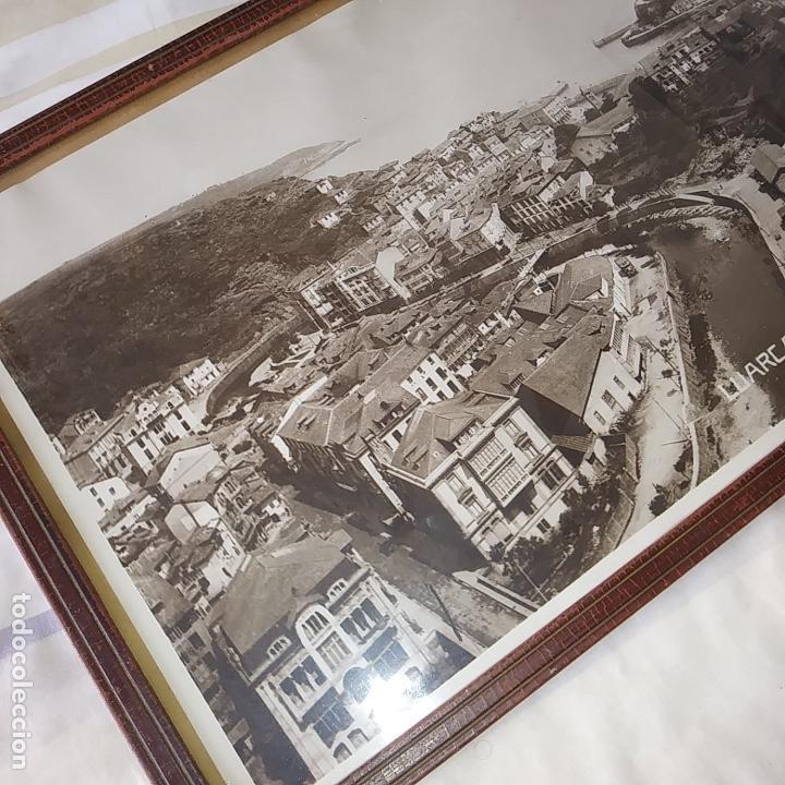 Fotografía antigua: GRAN FOTO AÑOS 30, ORIGINAL, LUARCA, ASTURIAS. VER FOTOS. - Foto 3 - 118708327