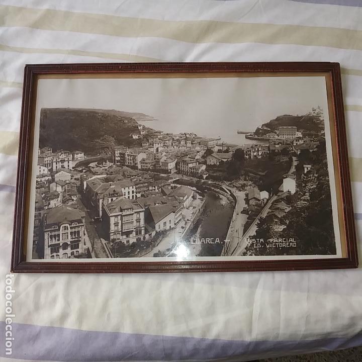 GRAN FOTO AÑOS 30, ORIGINAL, LUARCA, ASTURIAS. VER FOTOS. (Fotografía Antigua - Fotomecánica)