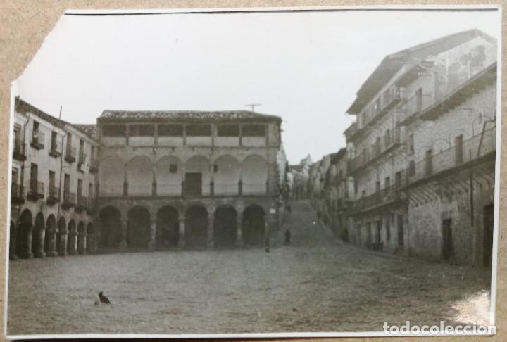 FOTO ANTIGUA ORIGINAL. SIGÜENZA. AÑO 1941 MEDIDAS 80 MM X 55 MM. (Fotografía Antigua - Fotomecánica)