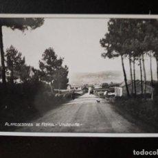 Fotografía antigua: FOTOGRAFÍA ANTIGUA. ALREDEDORES DE FERROL. VALDOVIÑO.. Lote 119030415