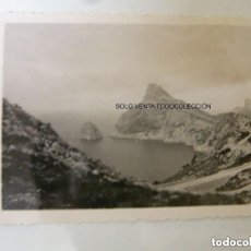 Fotografía antigua: MALLORCA CABO DE FORMENTOR ISLAS BALEARES FOTO ANTIGUA ORIGINAL DEL AÑO 1932.. Lote 119036827