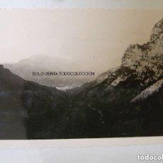 Fotografía antigua: MALLORCA COLL DE SÓLLER FOTO ORIGINAL AÑO 1932. Lote 119036987