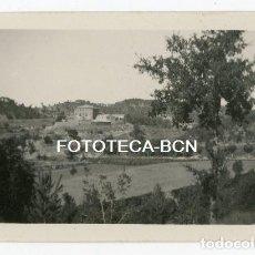 Fotografía antigua: FOTO ORIGINAL CASTILLO DE ROCAFORT SANTA MARIA D'OLO MOIANES AÑO 1933. Lote 119261811