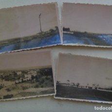 Fotografía antigua: LOTE DE 4 FOTOS DE LOCALIDAD . PRINCIPIOS DE SIGLO. DESCONOCIDO. Lote 119323847