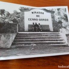 Fotografía antigua: ANTIGUA FOTOGRAFIA MIRADOR DE CERRO GORDO ALMUÑECAR GRANADA. Lote 119432331