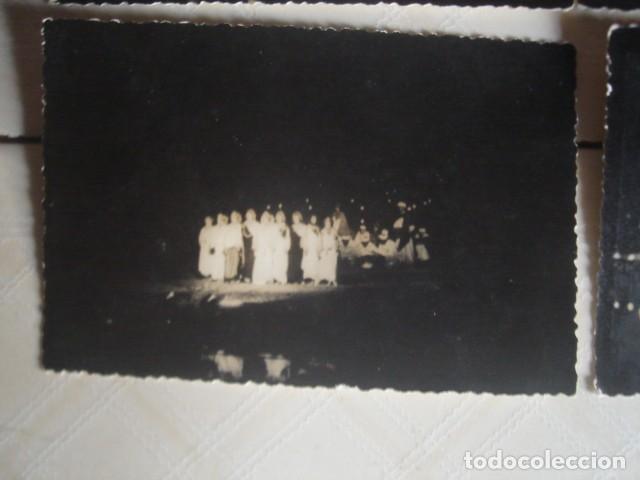 Fotografía antigua: Marruecos. Representación nocturna del Ahwash, espectáculo típico del sur. Años 60. 4 fotos. - Foto 5 - 119437851