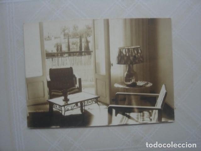 MARRUECOS.HABITACIÓN DE HOTEL. AÑOS 60 (Fotografía Antigua - Fotomecánica)