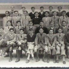 Fotografía antigua: PROMOCION AÑOS 50 COLEGIO LA SALLE DE BURGOS . Lote 119520207