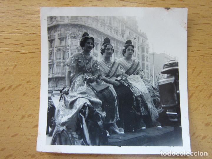 FOTOGRAFIA. FALLA DE VALENCIA. BELLEZAS FALLERAS. AÑO 1943. FALLAS. (Fotografía Antigua - Fotomecánica)