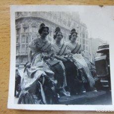 Alte Fotografie - FOTOGRAFIA. FALLA DE VALENCIA. BELLEZAS FALLERAS. AÑO 1943. FALLAS. - 119634363
