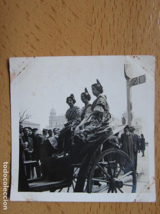 FOTOGRAFIA. BELLEZAS FALLERAS VALENCIA. AÑO 1943. FALLAS. (Alte Fotografie - Fotomechanik)