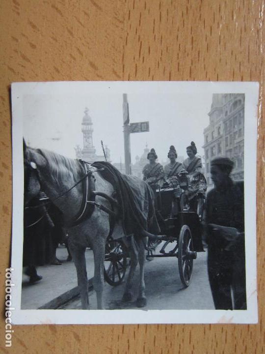 FOTOGRAFIA. BELLEZAS FALLERAS VALENCIA. AÑO 1943. FALLAS. (Fotografía Antigua - Fotomecánica)