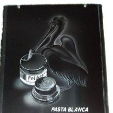 Fotografía antigua: PASTA BLANCA PELIKANOL PUBLICIDAD ANTIGUO NEGATIVO EN CRISTAL. Lote 120154363