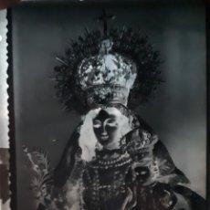 Fotografía antigua: ANTIGUO CLICHÉ N. S. DE LAS MERCEDES CORONADA BOLLULLOS PAR DEL CONDADO HUELVA NEGATIVO EN CRISTAL. Lote 120462659