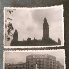Fotografía antigua: FT 14 LOTE 2 ANTIGUAS FOTOGRAFÍAS EDIFICIOS DE BARCELONA - PRINCIPIOS AÑOS 50 - 7CM X 10CM. Lote 120562775