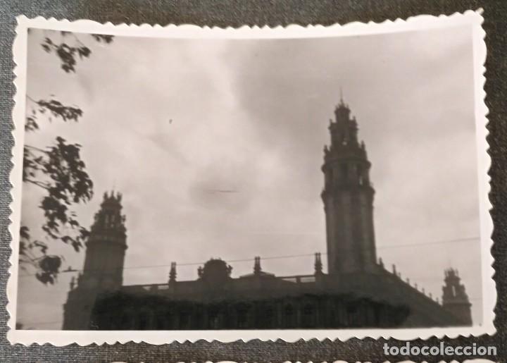 Fotografía antigua: FT 14 Lote 2 antiguas fotografías Edificios de Barcelona - principios años 50 - 7cm x 10cm - Foto 2 - 120562775