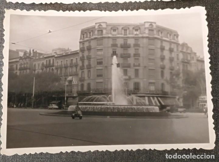 Fotografía antigua: FT 14 Lote 2 antiguas fotografías Edificios de Barcelona - principios años 50 - 7cm x 10cm - Foto 3 - 120562775