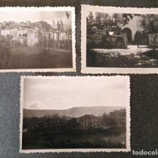 Fotografía antigua: FT 19 LOTE 3 ANTIGUAS FOTOGRAFÍAS DE TRES PUEBLOS CATALANES - PRINCIPIOS AÑOS 50 . Lote 120568111