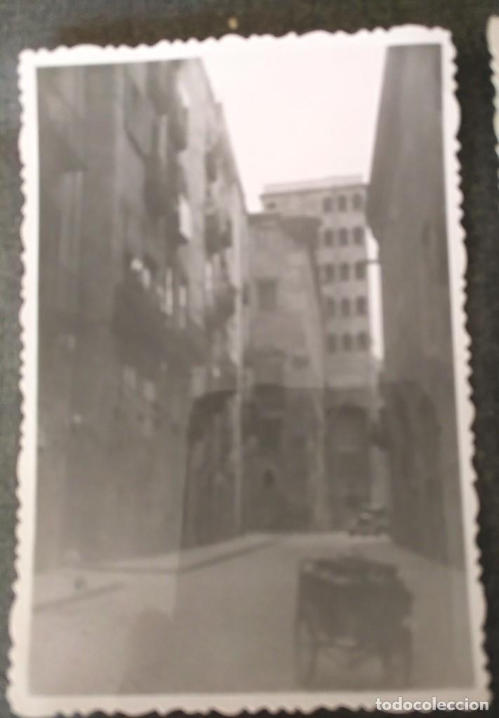 Fotografía antigua: FT 20 Lote 3 antiguas fotografías instantáneas Barcelona - principios años 50 - 7cm x 10cm - Foto 2 - 120568699