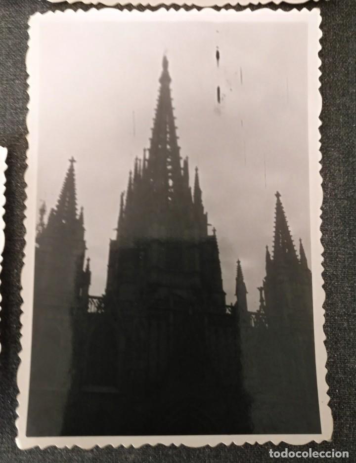 Fotografía antigua: FT 20 Lote 3 antiguas fotografías instantáneas Barcelona - principios años 50 - 7cm x 10cm - Foto 4 - 120568699