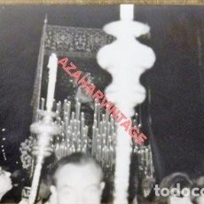 Fotografía antigua: SEMANA SANTA SEVILLA, 1966, VIRGEN DE LA PRESENTACION, EL CALVARIO, 90X140MM. Lote 120946803