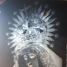 Fotografía antigua: ANTIGUO CLICHE DE NUESTRA SEÑORA DE LA SOLEDAD LEBRIJA SEVILLA NEGATIVO EN CRISTAL. Lote 121561311