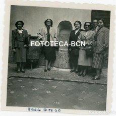 Fotografía antigua: FOTO ORIGINAL TOLEDO MUJERES VISITA A LA CASA DEL GRECO AÑO 1951. Lote 121730183