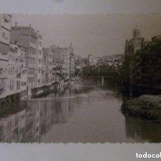 Fotografía antigua: CASES CASAS DE L'ONYAR GIRONA GERONA FOTO ANTIGUA ORIGINAL. Lote 121737343