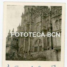 Fotografía antigua: FOTO ORIGINAL SANTIAGO DE COMPOSTELA CATEDRAL AÑO 1958. Lote 121958575