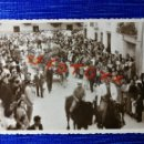 Fotografía antigua: ANTIGUA FOTOGRAFÍA DE REQUENA.VALENCIA. FIESTAS. FOTO AÑOS 40.. Lote 122274787