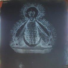 Fotografía antigua: ANTIGUO CLICHÉ DE NUESTRA SEÑORA DE LA CABEZA PATRONA DE ANDUJAR JAEN NEGATIVO EN CRISTAL. Lote 122315815