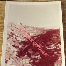 Fotografía antigua: GRANADA, ANTIGUA FOTOGRAFIA, VISTA DEL ALBAICIN, RARA, 88X128MM. Lote 122542579