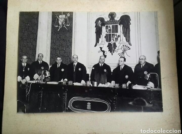 MAGISTRADOS DEL FRANQUISMO. AÑOS 40S (Fotografía Antigua - Fotomecánica)