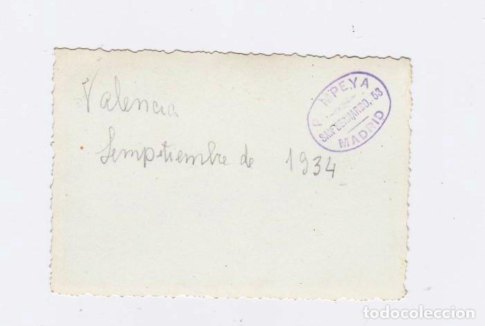 Fotografía antigua: VALENCIA PUERTO 1934. 3 FOTOGRAFIAS - Foto 2 - 124573259