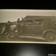 Fotografía antigua: FOTOGRAFIA ANTIGUA COCHE VEHICULO FORD? DE EPOCA PPIOS SIGLO. Lote 124650530
