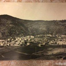 Fotografía antigua: SANT JOAN LES FONTS - ANTIGUA FOTOGRAFIA ORIGINAL DE GRAN TAMAÑO ENMARCADA- MIDE 58X41CMS . Lote 125078919