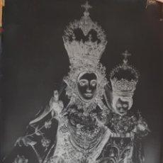 Fotografía antigua: ANTIGUO CLICHÉ DE NUESTRA SEÑORA DE ARACELI PATRONA DE LUCENA CORDOBA NEGATIVO EN CRISTAL. Lote 125169867