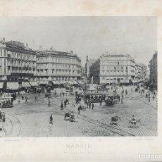 Fotografía antigua: FOTOGRAFIA LOTE 4 FOTOTIPIAS ORIGINALES MADRID HAUSER Y MENET AÑOS 1891 Y 1892 SIGLO XIX. Lote 125174431