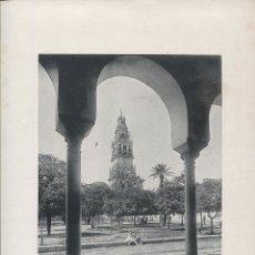 Fotografía antigua: FOTOGRAFIA LOTE 2 FOTOTIPIAS ORIGINALES CÓRDOBA HAUSER Y MENET AÑOS 1891 Y 1892 SIGLO XIX. Lote 125174471