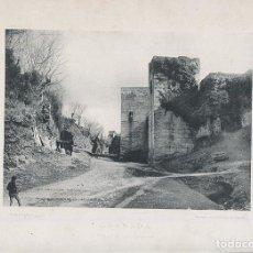Fotografía antigua: FOTOGRAFIA LOTE 10 FOTOTIPIAS ORIGINALES GRANADA HAUSER Y MENET AÑOS 1891 Y 1892 SIGLO XIX. Lote 125174775