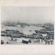 Fotografía antigua: FOTOGRAFÍA LOTE 3 FOTOTIPIAS ORIGINALES BARCELONA HAUSER Y MENET AÑOS 1891 Y 1892 SIGLO XIX. Lote 125174335