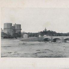 Fotografía antigua: FOTOGRAFIA LOTE 5 FOTOTIPIAS ORIGINALES VALENCIA HAUSER Y MENET AÑOS 1891 Y 1892 SIGLO XIX. Lote 125174367