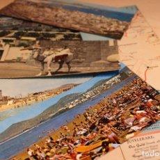 Fotografía antigua: 5 FOTOS POSTAL PARORÁMICAS DE ESPAÑA/ LAS PLAMAS DE GRAN CANARIA DESD AÑO50' A 70'Y MAPA DE LA ÉPOCA. Lote 125401239
