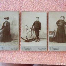 Fotografía antigua: LA PLATA(ARGENTINA)FOTO J.CAPPELLI. FOTOGRAFÍAS FECHADAS 1908.. Lote 125846903
