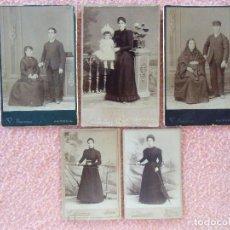 Fotografía antigua: JATIVA(VALENCIA) FOTOS V.SIMARRO,HACIA 1900. . Lote 125848351