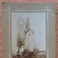 Fotografía antigua: NOVELDA(ALICANTE) FOTO JAIME BELDA.JOVEN POST-MORTEN.HACIA 1910.. Lote 125850179