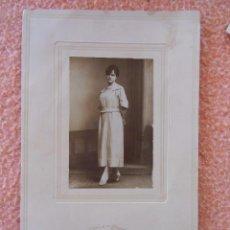 Fotografía antigua: ALICANTE.SOCIEDAD FOTOGRÁFICA, GERENTE SÁNCHEZ, HACIA 1910.. Lote 125943751