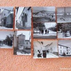 Fotografía antigua: JUMILLA(MURCIA) PAISAJE DE LA POBLACIÓN.FOTOS DE 10´5X7´5 CM,. 1961.. Lote 125955271