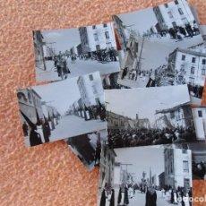 Fotografía antigua: JUMILLA(MURCIA) SEMANA SANTA.FOTOS DE 10´5X7´5 CM,ESPECTACULAR LOTE DE 17 MAGNIFICAS FOTOGRAFÍAS.. Lote 125955523